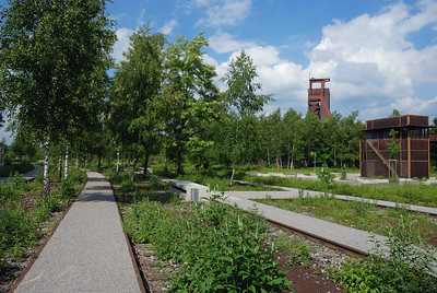 Park auf Zollverein