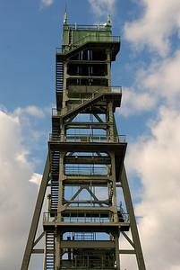 Förderturm in Dortmund