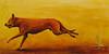 Orange Shepherd  24x48  Oil on Canvas 2007
