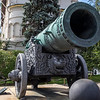 The Tsar Cannon inside the Kremlin, Moscow, Russia - Europe