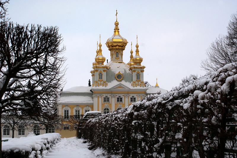 GRAND PALACE. PETERHOF. RUSSIA.