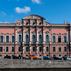 Facade of the Belosselsky-Belozersky Palace at the Nevsky Prospekt, St Petersburg, Russia