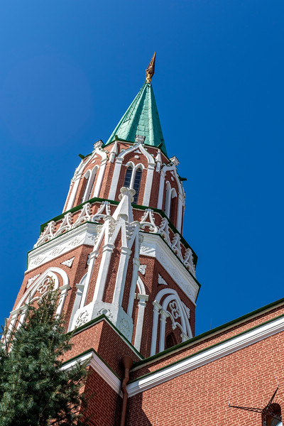 St. Nicholas Tower,  Kremlin, Moscow, Europe