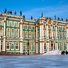 WINTER PALACE. THE HERMITAGE. ST. PETERSBURG.