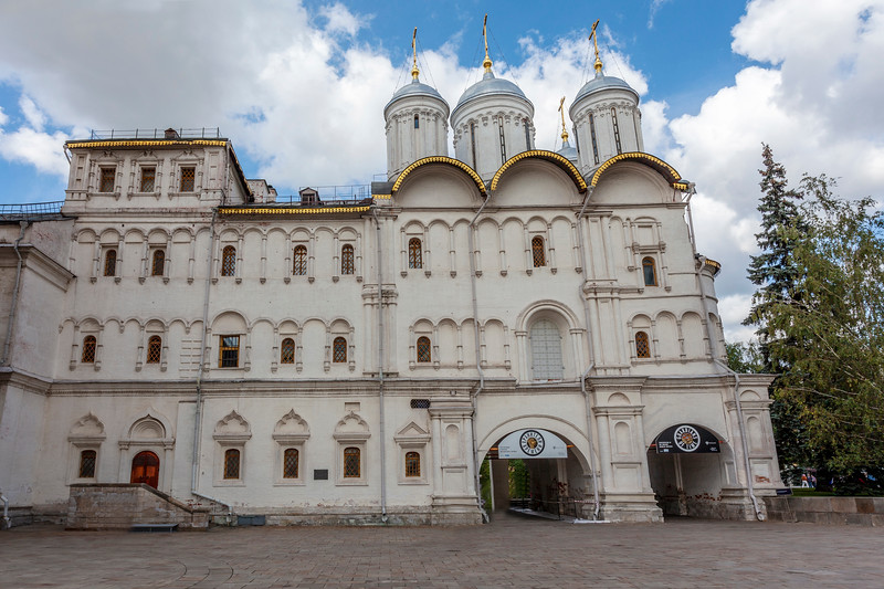 Exterior of the Church of the Twelve Apostles, Kremlin, Moscow, Russia - Europe