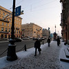 NEVSKY PROSPEKT. ST. PETERSBURG. RUSSIA.