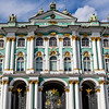 Facade of the Hermitage, Winter Palace, St Petersburg, Russia, Europe