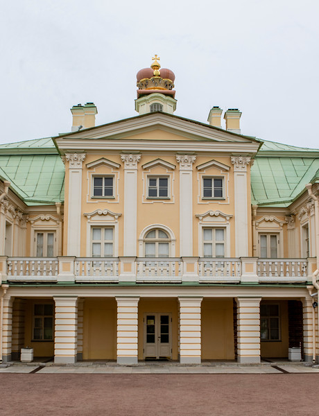 Oranienbaum, the palace of Alexander Menshikov close to St Petersburg, Russia