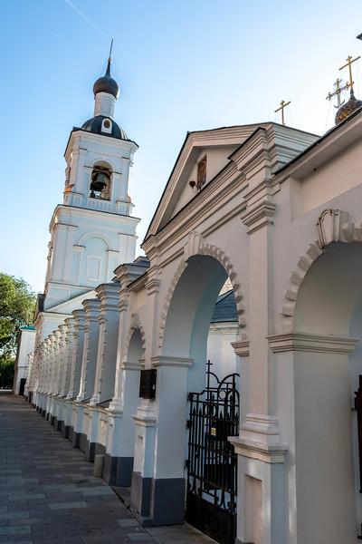 St Nicholas monastery, Goloetvin, Moscow, Russia