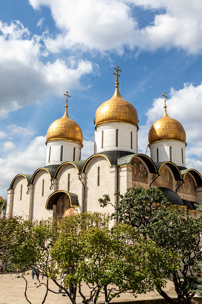 The Kremlin's Dormition Cathedral, Moscow, Russia