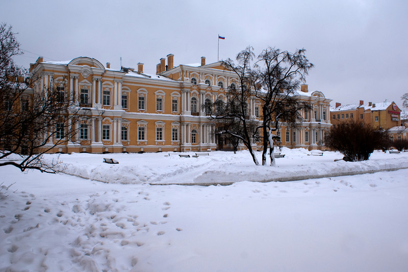 VORONTSOV PALACE. ST. PETERSBURG. RUSSIA.