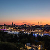 View of Moscow in the evening - Russia - Europe