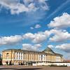 Kremlin Senate Building In Moscow, Russia, Europe
