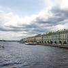 River Neva in Summertime, St Petersburg, Russia