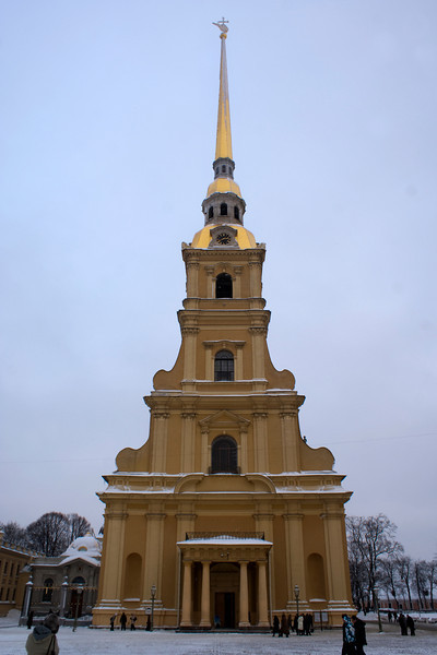 SS. PETER & PAUL CATHEDRAL. ST. PETERSBURG.