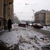 MARIINSKY THEATRE SEEN FROM THE NAB KRYUKOVA KANALA. ST. PETERSBURG. RUSSIA.