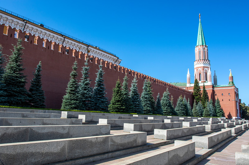 Red Square and Kremlin in Moscow, Russia - Europe