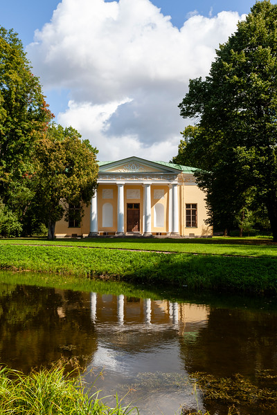 Concert Hall in the park of Catherine's Palace in Pushkin, St Petersburg, Russia