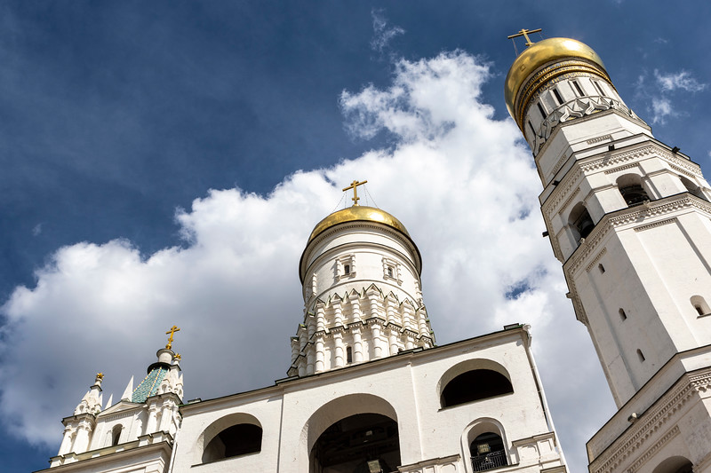 Ivan the Great Bell Tower, Kremlin, Moscow, Russia, Europe