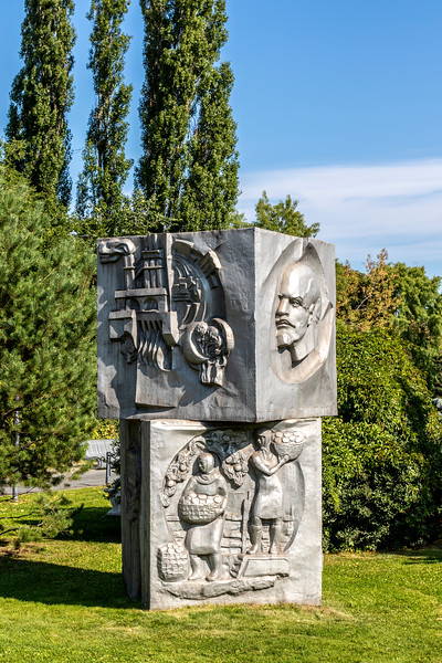Fallen Monument Park in Moscow, Russia