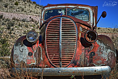 Taken at Gold King Mine near Jerome, Arizona in December, 2015.