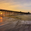 """Sunrise At Folly Beach"""