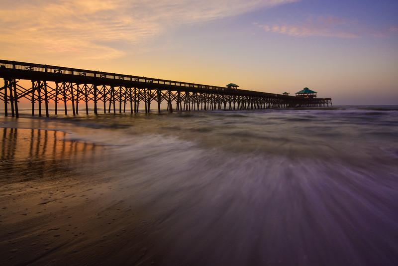 """Morning Light At Folly Beach"""