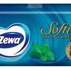 665899ZEWA taskurätik Softis mentooliga (üksikult) (4-kihiline)240*9tk7322540348750