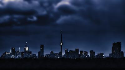 Toronto Imitates Gotham - Toronto CANADA