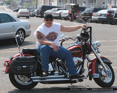 random biker dude chillin...