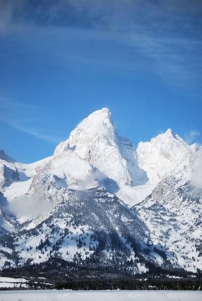 Majestic Mountain - Teton National Park, Wyoming
