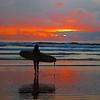 Sunset Surfer - Costa Rica