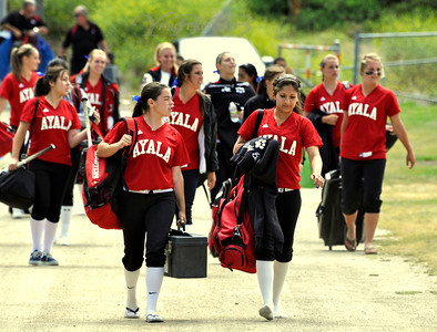 Ayala vs. Aliso Niguel Softball-C.I.F. Playoffs 5-27-10