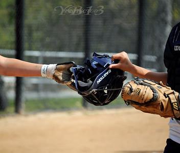 Hawks vs Stallions Softball-4-27-10