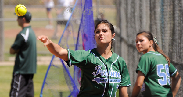 IRVINE vs EL TORO SOFTBALL PLAYOFFS 2011