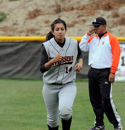 Riverside Community College vs Saddleback Softball 4-6-11