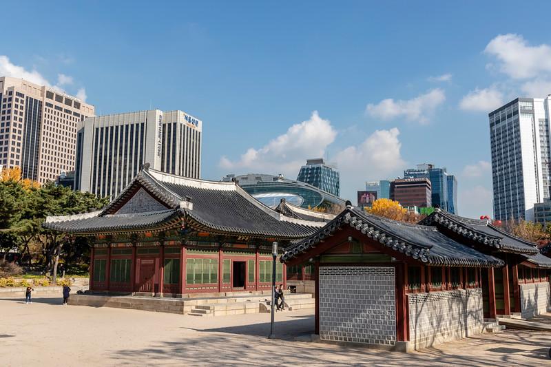 Seoul, Deoksugung Palace, Deokhongjeon Hall