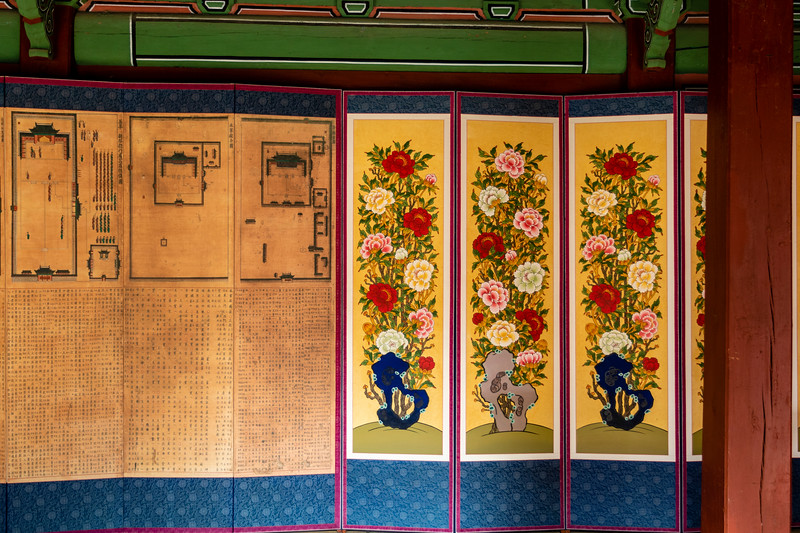 Jongmyo shrine - Jeagung and Vicinity (interior of changing room of the prince), Seoul, South Korea - Asia