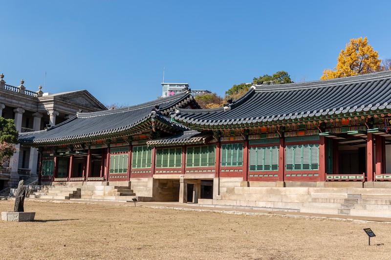 Seoul, Deoksugung Palace, Junmyeongdang Hall