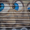 BARCELONA. BARRIO GOTICO. GRAFFITY. WHO IS WATCHING YOU?