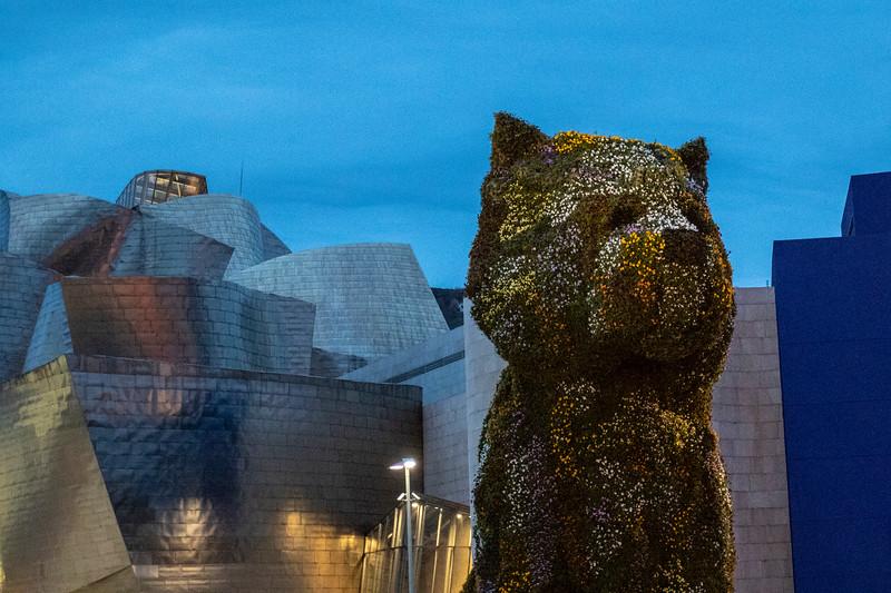 Bilbao, Museo Guggenheim, The Puppy