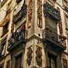 OLD HOUSE. EL RAVAL. BARCELONA. CATALUNA. SPAIN.