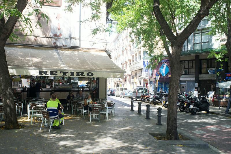 BARCELONA. CATALONIA. CAFE RETIRO.