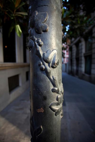 BARCELONA. STREET DETAIL. EL BORN.