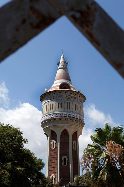 BARCELONA. WATER TOWER.