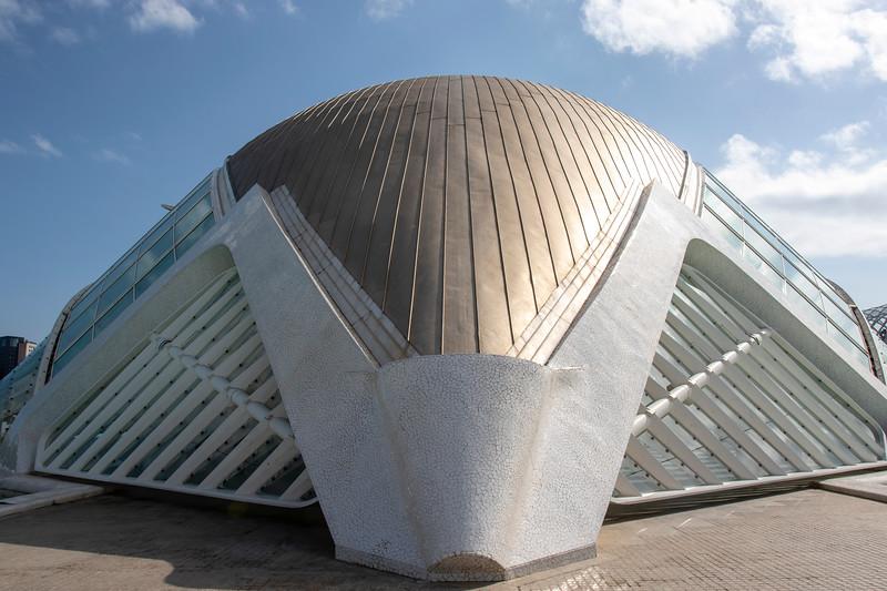 VALENCIA. CITY OF ARTS AND SCIENCES. [SANTIAGO CALATRAVA]