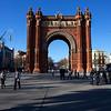 BARCELONA. CATALUNYA. SPAIN. ARCO DI TRIUNFO. [1]