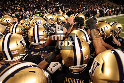 Last game in the ol' Dawghouse. UWHuskies/OregonDucks game 11/5/11