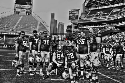 Huskies Offensive Linemen