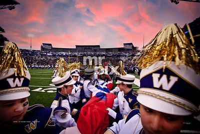 2013 Apple Cup, UDUB Marching Band